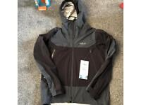 Brand new size small men's rab jacket