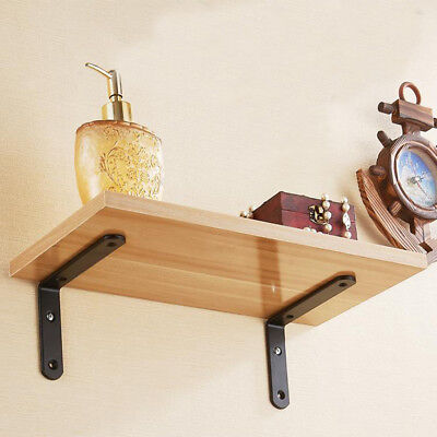 2pcs European Wall Shelf Bracket L Shape Commodity Shelf Decorative 15x20cm ()