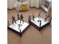 WWE cages include figures used
