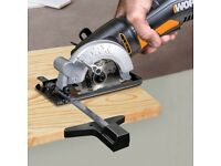 new Worx WX423 400W Compact Circular Saw. With 85mm blade