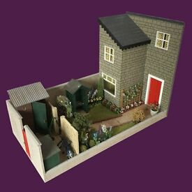 1/12th Scale Garden and Outbuildings complete with all accessories