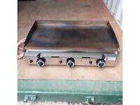 LPG Griddle - Parry PGF800G - Perfect for Catering/Street Food Stall