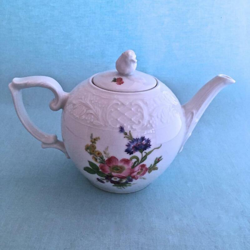 BAVARIA SCHUMANN FLOWERS teapot AZBERG GERMANY
