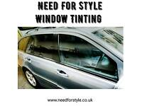 Window Tinting from £80 back three windows, Car Wrapping from £600 small cars