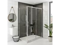 shower enclosure & shower tray