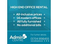 All Inclusive Desk and Office Rental in Scunthorpe