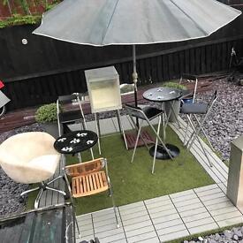 Pub garden set