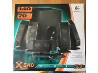 Logitech X-540 speakers