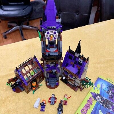 LEGO 75904 Scooby-Doo Mystery Mansion Almost Complete Read Description