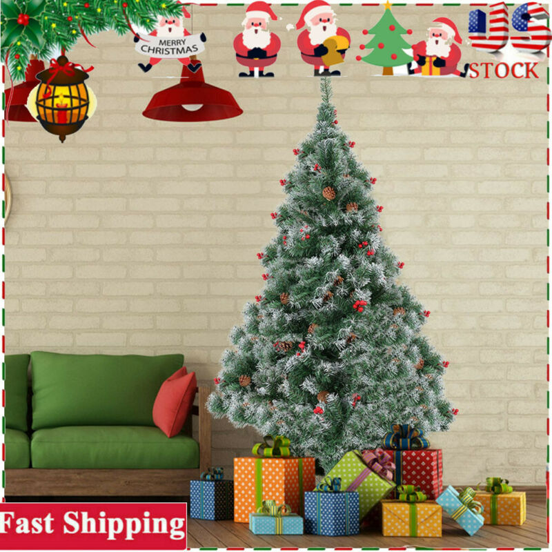 Kaqulec DIY Felt Christmas Tree Set for Kids,with 33 Detachable Ornaments Wall Hanging Xmas New Year Gifts for Boys Girls Party Supplies New Year Door Wall Hanging Decorations