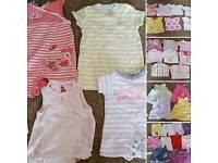 Girls summer bundle newborn & 0-3 months