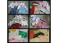 0-3 & 3-6 girl's clothes bundle