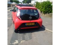 Toyota Aygo 2015 - 1.0 VVT -I -X-Pression 5dr.X-Wave - Red with SUNROOF