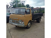Left hand drive Nissan Caball (Early Cabstar) SD22 3.5 Ton 6 tyres truck. Low miles.