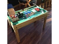 Multi game table - snooker, pool, table football, table tennis, hockey and many more