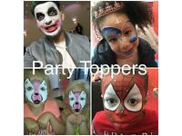 Face Painter, Balloon modeller, Face painting, Balloon Modelling, Mascots & bubble machine hire