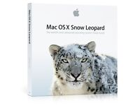 MAC OSX X 10.6 Snow Leopard Install Disk (family pack for 5 computers)