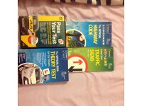 Driving and theory book and cd rom bundle