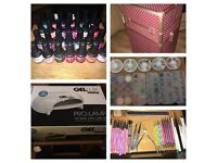 Complete Gellux nail kit EVERYTHING AND MORE