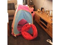 Play tunnel and tent