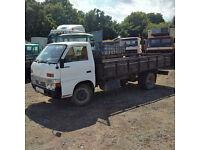 Left hand drive Isuzu TLD54 2.8 diesel 3.5 ton 6 tyres truck. MOT till 09/2016.