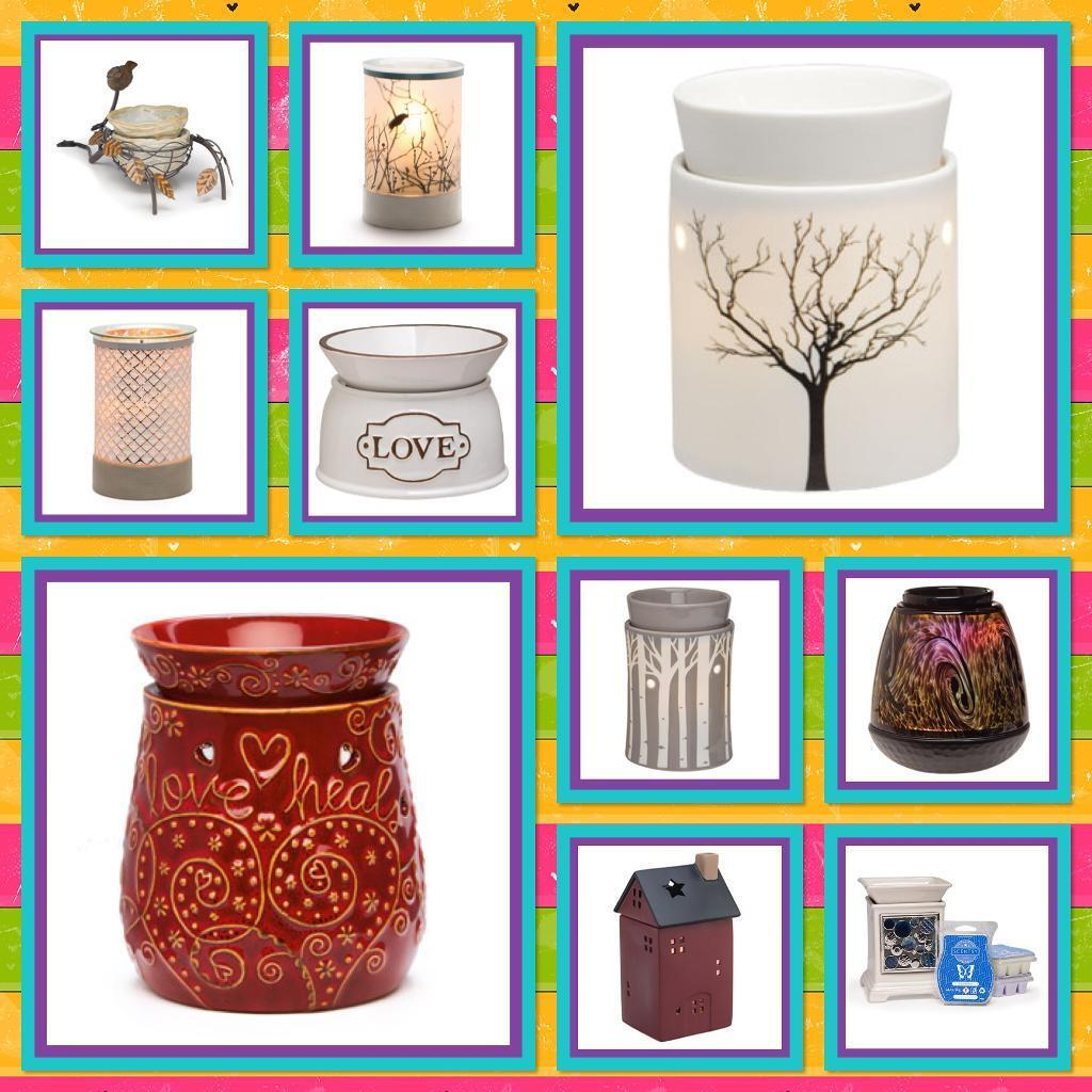 Scentsy warmers, wax diffusers & toys