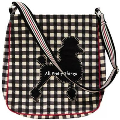 RRP £40- JAN CONSTANTINE Designer POODLE Dog Messenger Bag ULSTER WEAVERS