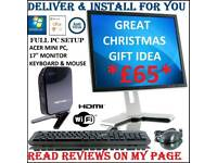 PC DESKTOP COMPUTER. DELIVER & INSTALL 4U
