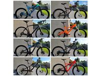Bikes for sale click to see ads mountain road full Suspension Specialized Orange Bianchi bicycle