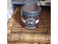 Farrow and ball 2.5 l new tin French gray no 18 cost £60 currently in b and q