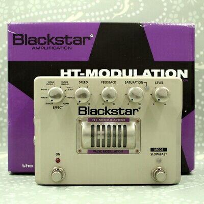 Blackstar HT MODULATION Valve Modulation guitar effect pedal (0989)