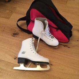 # WHITE FIGURE SKATES #