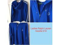Ladies Ralph Lauren hoodie £10