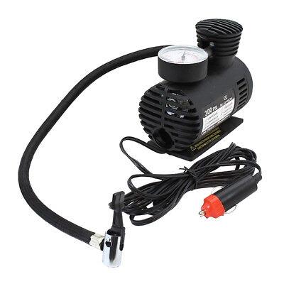 12v 300psi Car Electric Mini Air Compressor Pump Bike Tyre Air Inflator 2