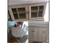Furniture set! Table,chairs,sideboard,TV unit