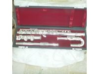 Sonata flute-serviced 2015 not used since. Suitable for beginner