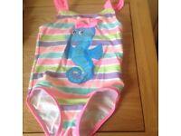 Girls swimming costume 18-23 months