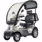 Scootmobiel Afikim Breeze S4 incl met overkaping