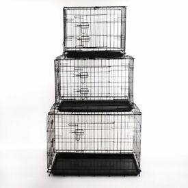 BRAND NEW Two Door Dog crate / Dog Cage . Small, Medium & Large Sizes available.