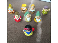 Fisher-Price Little People Disney Snow White and Seven Dwarfs Set