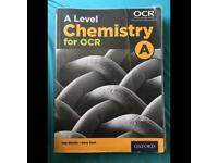 OCR A level Chemistry Text Book, used for sale  Bournemouth, Dorset