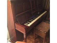 Antique upright J&J Hopkinson London Piano £25 o.n.o