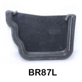 Guttering Cast Iron Replica Brett Martin, External Stopend Brett Martin BR87 Left 106mm Prostyle