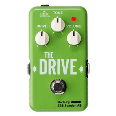 EBS The Drive Boost Overdrive Foot Pedal For Bass and Guitar