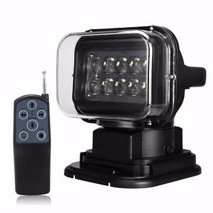 NEW MAGNETIC CREE 50 WATT SEARCH LED LIGHT ROBOTIC 12 VOLT PORTABLE HUNTING SPOT WORK ON SALE !