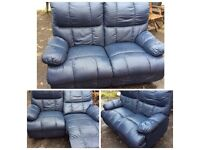 2 seater recliner sofa. (Photo taken on way in to storage)