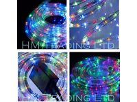 BRAND NEW QTX RL720 LEDS SUPER BRIGHT 20M LED ROPE LIGHTS WATERPROOF PARTY WEDDING XMAS CHRISTMAS DJ