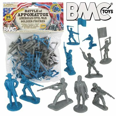 BMC Toys - Battle of Appomattox - American Civil War Soldier Figures Set 1/3