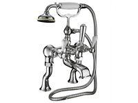 "New Imperial Crown Lever EDW/RGNT 3/4"" 3 Bath Shower Mixer"