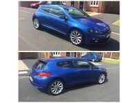 2014 VOLKSWAGEN SCIROCCO GT TDI 175 BHP SAT NAV, FULL LEATHER TOUCH SCREEN, P.SENSORS, BLUETOOTH ETC